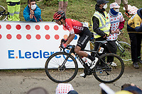 up the Col de Marie Blanque (HC)<br /> <br /> Stage 9 from Pau to Laruns (153km)<br /> <br /> 107th Tour de France 2020 (2.UWT)<br /> (the 'postponed edition' held in september)<br /> <br /> ©kramon