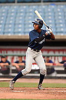 Chris Chatfield (11) of Spoto High School in Riverview, Florida playing for the Tampa Bay Rays scout team during the East Coast Pro Showcase on August 1, 2014 at NBT Bank Stadium in Syracuse, New York.  (Mike Janes/Four Seam Images)