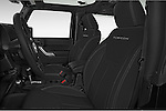 Front seat view of 2017 JEEP Wrangler Rubicon 5 Door SUV Front Seat  car photos