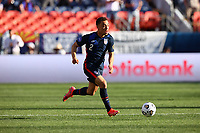 DENVER, CO - JUNE 3: Sergino Dest #2 of the United States during a game between Honduras and USMNT at Empower Field at Mile High on June 3, 2021 in Denver, Colorado.