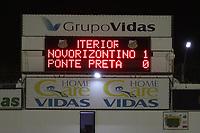 Novo Horizonte (SP), 20/05/2021 - Novorizontino-Ponte Preta - Partida entre Novorizontino e Ponte Preta válida pela final do troféu do interior no estádio Jorge Ismael de Biasi em Novo Horizonte, nesta noite de quinta-feira (20).