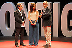 "The spanish journalists Inaki Gabilondo, Mamen Mendizabal and Carles Francino during the Gala ""Contigo"" in celebration of the 90th anniversary of Radio Madrid Cadena SER. June 2, 2015. (ALTERPHOTOS/Acero)"