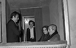 LUCHINO VISCONTI<br /> TEATRO ARGENTINA ROMA 1968