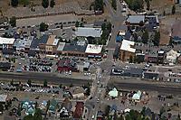 aerial photograph of Truckee,  California