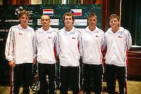 21-9-06,Leiden, Tennis, Daviscup, Tsjech team