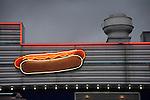 Skooter's Roadside diner neon.
