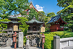 Sensō-ji is an ancient Buddhist temple located in Asakusa, Tokyo, Japan. It is Tokyo's oldest temple, and one of its most significant. Formerly associated with the Tendai sect of Buddhism, it became independent after World War II.