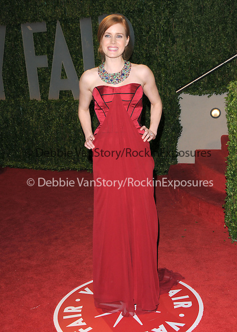 Amy Adams at The 2009 Vanity Fair Oscar Party held at The Sunset Tower Hotel in West Hollywood, California on February 22,2009                                                                                      Copyright 2009 RockinExposures / NYDN