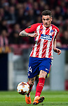 Jose Maria Gimenez de Vargas of Atletico de Madrid in action during the UEFA Europa League 2017-18 Round of 32 (2nd leg) match between Atletico de Madrid and FC Copenhague at Wanda Metropolitano  on February 22 2018 in Madrid, Spain. Photo by Diego Souto / Power Sport Images