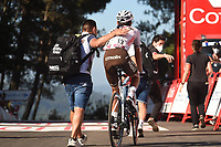 4th September 2021; Sanxenxo to Castro De Herville De Mos, Pontevedra, Spain; stage 20 of Vuelta a Espanya cycling tour; Ag2r - Citroen Champoussin, Clement Castro De Herville De Mos