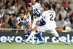 Deportivo de La Coruna's  during La Liga match. September 30, 2012. (ALTERPHOTOS/Alvaro Hernandez).