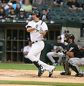 Paul Konerko of the Chicago White Sox vs. the Florida Marlins: June 19th, 2007 at Wrigley Field in Chicago, IL.  Photo copyright Mike Janes Photography 2007.