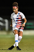 Lakewood Ranch, FL - Wednesday, October 10, 2018:   Makenna Morris during a U-17 USWNT match against Colombia.  The U-17 USWNT defeated Colombia 4-1.