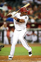 Arizona Diamondbacks outfielder Justin Upton #10 during a National League regular season game against the Colorado Rockies at Chase Field on October 2, 2012 in Phoenix, Arizona. Arizona defeated Colorado 5-3. (Mike Janes/Four Seam Images)