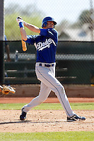 Kyle Russell - Los Angeles Dodgers - 2009 spring training.Photo by:  Bill Mitchell/Four Seam Images