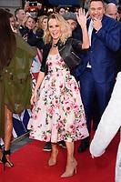 Amanda Holden and David Walliams<br /> arrives for the Britain's Got Talent 2018 auditions, Palladium Theatre, London<br /> <br /> <br /> ©Ash Knotek  D3373  28/01/2018