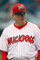 Sept. 5th, 2007:  Mike Shildt of the Batavia Muckdogs, Short-Season Class-A affiliate of the St. Louis Cardinals at Dwyer Stadium in Batavia, NY.  Photo by:  Mike Janes/Four Seam Images