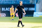 20.02.2021, xtgx, Fussball 3. Liga, FC Hansa Rostock - SV Waldhof Mannheim, v.l. Schiedsrichter, Schiri, referee Dr. Martin Thomsen <br /> <br /> (DFL/DFB REGULATIONS PROHIBIT ANY USE OF PHOTOGRAPHS as IMAGE SEQUENCES and/or QUASI-VIDEO)<br /> <br /> Foto © PIX-Sportfotos *** Foto ist honorarpflichtig! *** Auf Anfrage in hoeherer Qualitaet/Aufloesung. Belegexemplar erbeten. Veroeffentlichung ausschliesslich fuer journalistisch-publizistische Zwecke. For editorial use only.