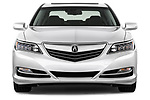 Car photography straight front view of a 2014-2016 Acura RLX Base 4 Door Sedan