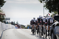Team Sunweb off the start podium and on their way to victory<br /> <br /> Women's Team Time Trial<br /> <br /> UCI 2017 Road World Championships - Bergen/Norway