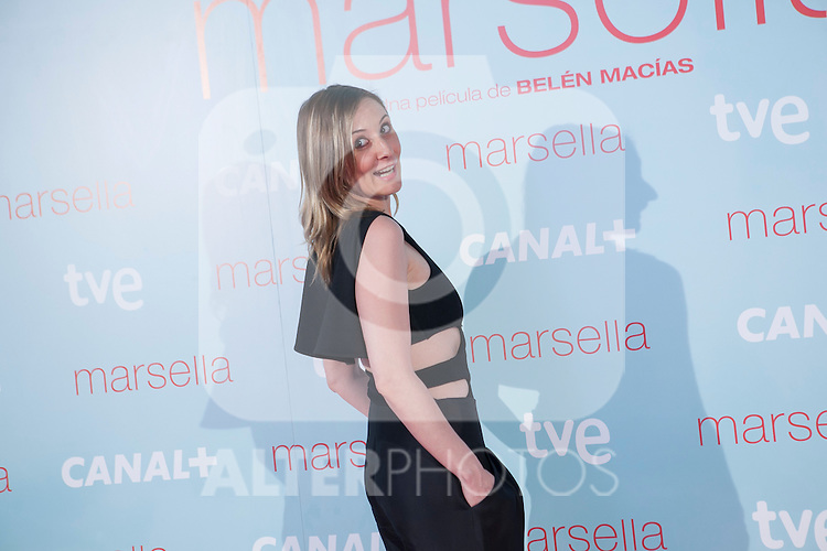 Nathalie Poza poses at `Marsella´ film premiere photocall at Capital cinema in Madrid, Spain. July 17, 2014. (ALTERPHOTOS/Victor Blanco)