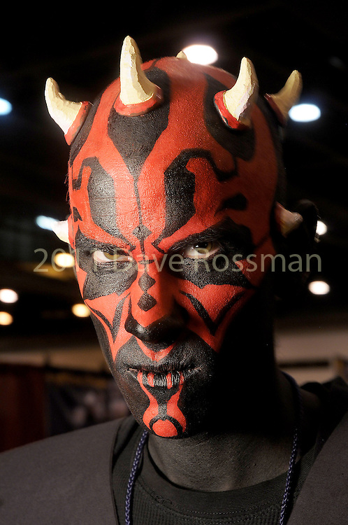 Lance Walton from Colorado dressed as Darth Maul at Space City Comic Con at NRG Center Saturday May 28,2016(Dave Rossman Photo)