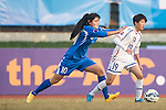 Chinese Taipei plays against Uzbekistan during the AFC U-16 Women's Championship China 2015 Group A match at the Hankou Culture & Sports Centre Stadium on 09 November 2015 in Wuhan, China. Photo by Lucas Schifres / Power Sport Images