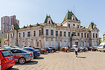 Russian Governor General's Office - City Hall. Under The Japanese, It Became A Second Yamato Hotel. Under The PRC It Was A Museum Before This Was Moved To A New Location. It Is Now Looking Rather Abandoned And Sad, And Patiently Awaiting Restoration. Built In 1900, Dalian (Dalny/Dairen).
