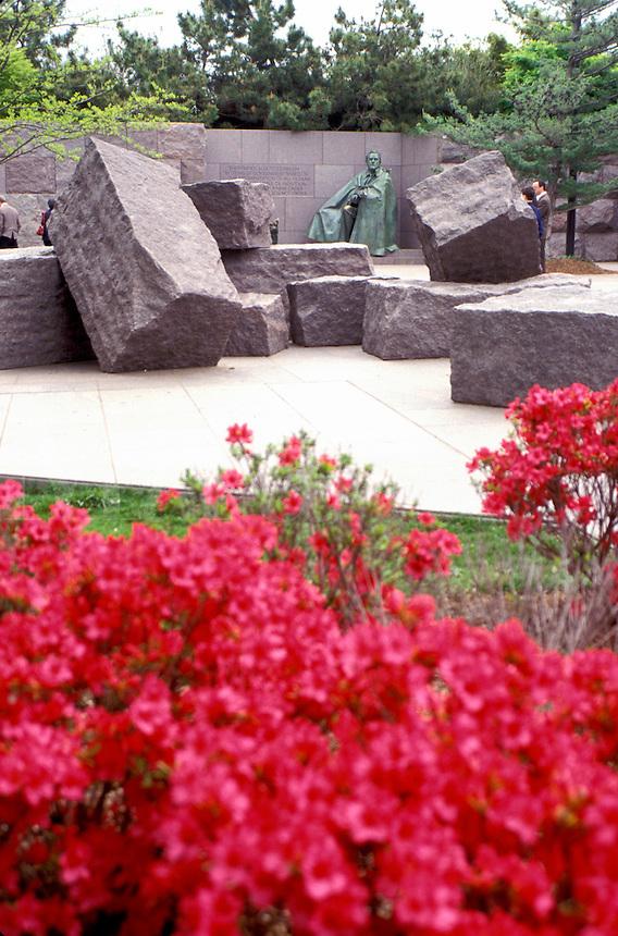 Franklin D. Roosevelt Memorial, Washington, DC, District of Columbia, Franklin Delano Roosevelt Memorial.