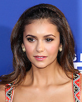 """HOLLYWOOD, LOS ANGELES, CA, USA - AUGUST 07: Nina Dobrev at the Los Angeles Premiere Of 20th Century Fox's """"Let's Be Cops"""" held at ArcLight Cinemas Cinerama Dome on August 7, 2014 in Hollywood, Los Angeles, California, United States. (Photo by Xavier Collin/Celebrity Monitor)"""