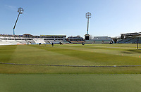 General view of the ground prior to Warwickshire CCC vs Essex CCC, LV Insurance County Championship Group 1 Cricket at Edgbaston Stadium on 22nd April 2021