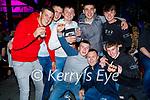 Enjoying the evening in Killarney on Saturday, front l to r: Noelie Roche, Darragh Gill (Rathmore)and Kieran Fitzgerald. Back l to r: Shane Nagle, PJ McAuliffe (Knochnagoshel), Damien Cronin, Tadgh O'Keeffe and Owen Rahilly.