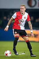 ROTTERDAM, Feyenoord - Willem II 1-0, voetbal, Eredivisie, seizoen 2016-2017, 21-01-2017, Stadion De Kuip, Feyenoord speler Rick Karsdorp.<br /> <br /> <br /> <br /> <br /> <br /> <br /> <br /> <br /> <br /> <br /> <br /> <br /> <br /> <br /> <br /> Foto Pro Shots / Insidefoto