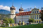 Austria, Tyrol, Stams in Tyrolean Upper Inn Valley: Cistercian Abbey Stams | Oesterreich, Tirol, Stams im Tiroler Oberinntal: Stift Stams