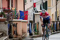 Mathieu Van der Poel (NED/Alpecin-Fenix) putting on another spectacular show on stage 5 from Castellalto to Castelfidardo (205km), resulting in a 2nd stage win in the 56th Tirreno-Adriatico 2021 (2.UWT) <br /> <br /> ©kramon