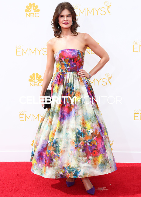 LOS ANGELES, CA, USA - AUGUST 25: Actress Betsy Brandt arrives at the 66th Annual Primetime Emmy Awards held at Nokia Theatre L.A. Live on August 25, 2014 in Los Angeles, California, United States. (Photo by Celebrity Monitor)