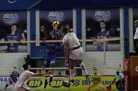Campinas (SP), 23/01/2021 - Vôlei Renata-Sada Cruzeiro - Partida entre o Vôlei Renata e Sada Cruzeiro pela Superliga Banco Do Brasil 20/21 masculina de vôlei, neste sábado (23) no ginásio do Taquaral em Campinas, interior de São Paulo.