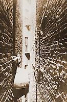 "Historical Photos:   "" Bathtub in Airshaft"" by Jacob Riis, 1890.  Schoener, p. 240.   Photo '77."