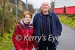 Donie and Marie O'Sullivan enjoying a walk on the Slim Mile Greenway in Tralee on Sunday.
