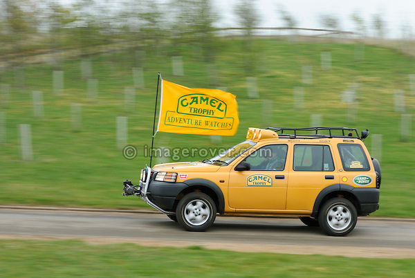 Camel Trophy Land Rover Freelander at the Gaydon Heritage Land Rover Run 2006. Europe, England, UK. --- No releases available. Automotive trademarks are the property of the trademark holder, authorization may be needed for some uses.