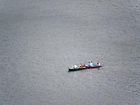 Boote auf der Bode bei der Rappbode-Talsperre im Harz, Sachsen-Anhalt, Deutschland, Europa<br /> boats at Rappbode dam in the Harz Mountains, Saxony-Anhalt, Germany, Europe