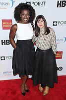 NEW YORK CITY, NY, USA - APRIL 07: Uzo Aduba, Yael Stone at the Point Honors New York Gala 2014 held at the New York Public Library on April 7, 2014 in New York City, New York, United States. (Photo by Jeffery Duran/Celebrity Monitor)