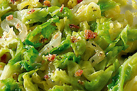 Shredded green cabbage food photos