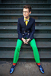 NEW YORK - MAY 05, 2011:  Bravo's reality star and stylist Brad Goreski poses for a portrait on Mercer Street on May 05, 2011 in New York City.  (PHOTOGRAPH BY MICHAEL NAGLE)