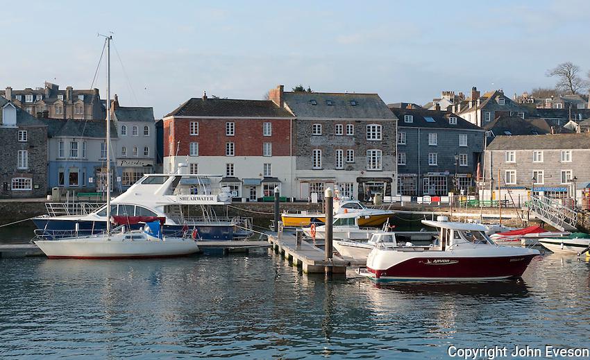 Boats at Padstow, Cornwall