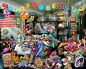 Lori, LANDSCAPES, LANDSCHAFTEN, PAISAJES, paintings+++++Clean Your Room_8_72,USLS154,#l#, EVERYDAY ,puzzle,puzzles