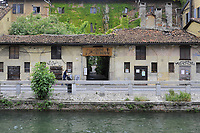 - Milano, Naviglio Grande, Palazzo Galloni, residenza del '600<br /> <br /> - Milan, Naviglio Grande canal , Galloni Palace, 17th century residence