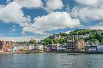 UK, Scotland, Oban Town & Harbor