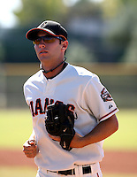 Nick Noonan / San Francisco Giants 2008 Instructional League..Photo by:  Bill Mitchell/Four Seam Images