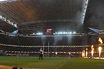 Millennium stadium, just before kick off. Wales V Australia, Invesco Perpetual Series 2008. © Steve Pope Sportingwales The Manor Coldra Woods Newport South Wales NP18 1HQ 07798 830089 01633 410450 steve@sportingwales.com www.fotowales.com www.sportingwales.com